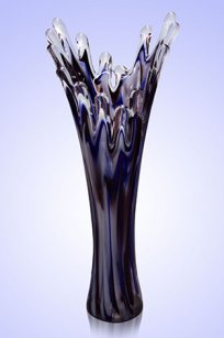 Ваза стеклокрошка Коралл h280 мм. Б.С.М.