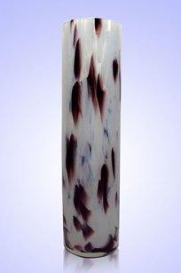 Ваза стеклокрошка Цилиндр d80.h300 мм. Б.М.