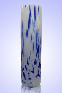 Ваза стеклокрошка Цилиндр d80.h300 мм. Б.С.