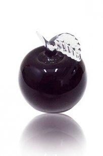 Сувенир стеклокрошка Яблоко h90 мм. Марг.