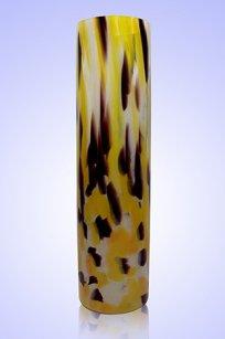 Ваза стеклокрошка Цилиндр d80.h300 мм. Ж.О.К.