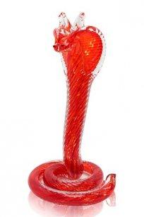 Сувенир стеклокрошка Змея h180 мм. Кр2.